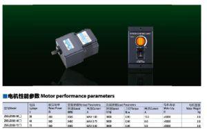 300watt 48V DC Brushless Gear Motor pictures & photos