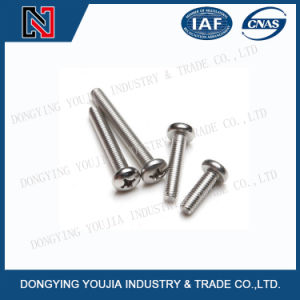 Ansib18.6.3p Stainless Steel Cross Recessed Pan Head Screws pictures & photos