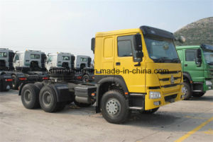 HOWO 371HP 25ton Semi Trailer Head 6X4 Tractor Truck (ZZ4257N3241W) pictures & photos