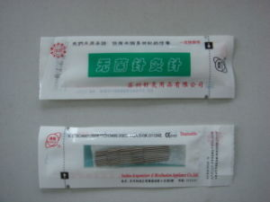 0.16x7mm Huan Qiu Brand Acupuncture Hand Needle in PE Bag pictures & photos