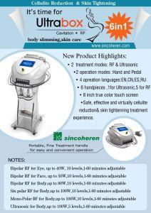 Sincoheren RF Vacuum Ultra Extra Cavitation Slimming Body Equipment pictures & photos