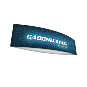 Football Shape Fabric Hanging Sign Banner Exhibition Stand (GC-FS) pictures & photos