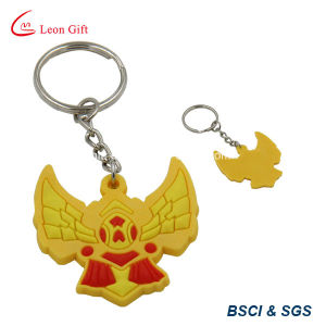 New Design Company Logo Promotional Cheap PVC Key Chains pictures & photos