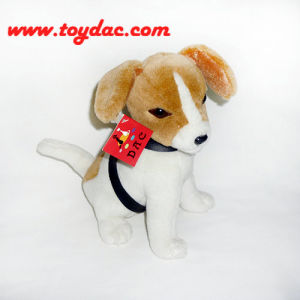 Stuffed Short Fur Dog Toy pictures & photos