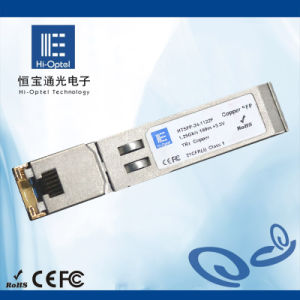 27. SFP Copper Transciver Optical Module Industrial Grade 10/100/1000Mbps pictures & photos