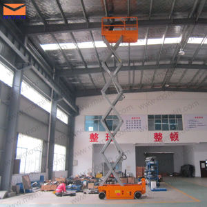 6m Man Lifting Electric Scissor Lift Table pictures & photos