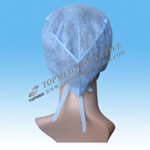 Man Made Disposable Doctor Cap, Nurse Cap pictures & photos