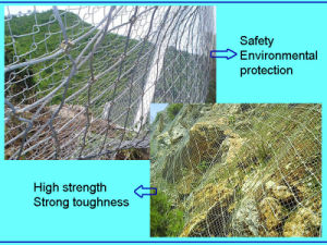 Sns Soft Fence/Sns Protective Mesh/High-Strength Steel Wire Netting pictures & photos