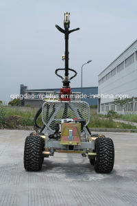 1500kg Log Loader Trailer CE Approved pictures & photos