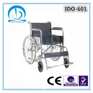 Steel Manual Wheelchair pictures & photos