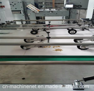 2017 Automatic Flat Bed Cardboard Die Cutting Machine pictures & photos