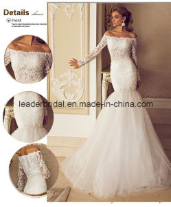 Mermaid Sexy Wedding Gowns Tulle off-Shoulder Bridal Dresses Z2080 pictures & photos