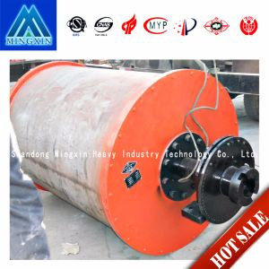 Iron Ore High Power Intermediate Strong Permanent Magnetic Drum Magnetic Separator pictures & photos