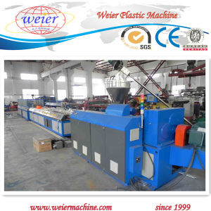 PVC Profile Ceiling Production Line Sjsz-51/105 pictures & photos