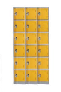 6 Doors Locker Cabient for Gym pictures & photos