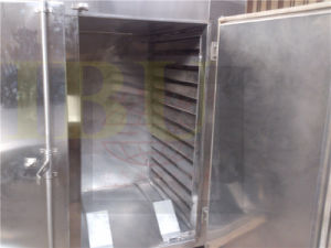 Hot Air Circulating Drying Oven for Apple Pieces in Foodstuff Industry pictures & photos