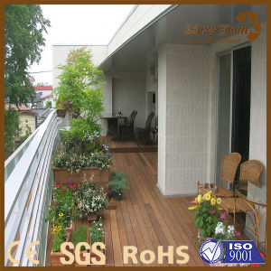 Extruded Balcony Terrace WPC Wood Plastic Composite Decking pictures & photos