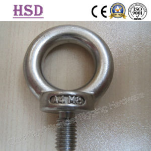 Stainless Steel DIN580 Eye Bolt & DIN582 Eye Nut pictures & photos