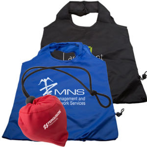 Nylon Drawstring Bag with Pocket pictures & photos