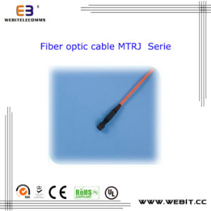 MTRJ Patch Cord Serie, MTRJ Fiber Optic Cable, Sx/Dx, Om1/Om2/Om3/Om4 pictures & photos
