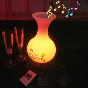 LED Light Speaker Bluetooth Wireless APP Bluetooth 4.0 Speaker Smart LED Night pictures & photos