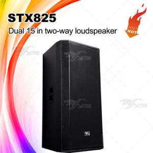 "Stx825 Professional Dual 15"" Speaker Box pictures & photos"
