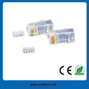 UTP CAT6 Modular Plugs for 4p4c, 6p4c and 8p8c pictures & photos