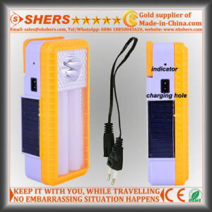 Solar Emergency Light with 5 LED Flashlight, Dimmable Switch (SH-1965A) pictures & photos