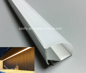 Corner 30X30 Aluminum LED Profile for Strip Lamp 3014 5050 3528 pictures & photos
