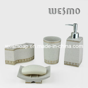 Sandstone Finish Polyresin Bath Accessory (WBP0280A) pictures & photos