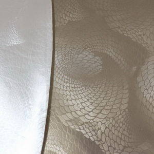Semi- PU Upholstery Leather for Home Decoration (Hongjiu-802#) pictures & photos