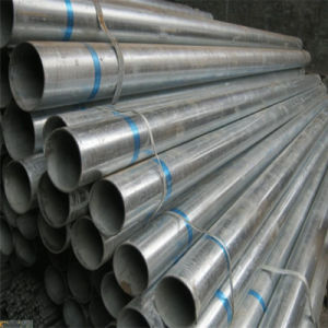 Steel Tube with Galvanized Surface for Frame pictures & photos