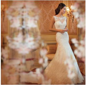 2016 Promotion Evening Party Prom Bridal Wedding Dress (ALSW001) pictures & photos