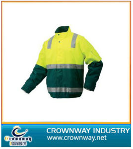 Men′s Functional High Visibility Waterproof Rain Coat / Raincoat pictures & photos