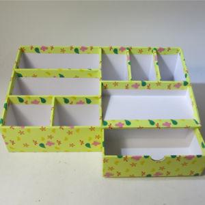 Multifunctional Printing Paper Desktop Organizer with Drawer pictures & photos