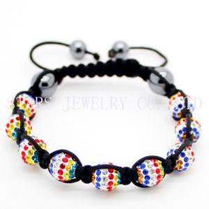Fashion Country Flag Shamballa Bracelet