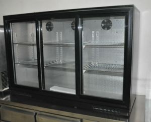 3 Sliding Doors Beer Refrigerator with CE pictures & photos