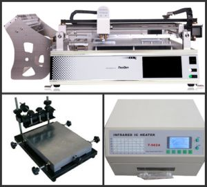 Pick and Place Production Line TM245p-Sta, Printer, T962A Reflow Oven pictures & photos