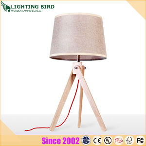 Lightingbird Modern Simple Wood Table Lamp