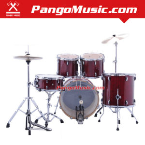 5-PC Professional Red Drum Set (Pango PMDM-2900) pictures & photos