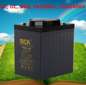 Deep Cycle Battery Motive Battery 6V 225ah pictures & photos