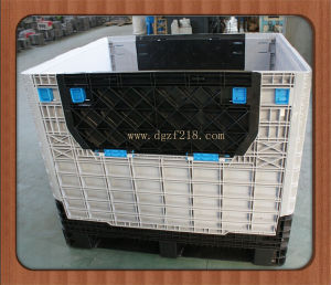 China High Quality Plastic Folding Pallet Box for Storage Wholesaler pictures & photos