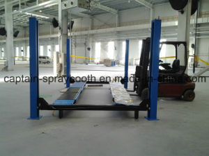 European Tyle 4 Post Lift with Wheel Alignment pictures & photos