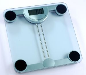 Hotel Personal Electronic Bathroom Scale with Transparents Glass (MB8921) pictures & photos