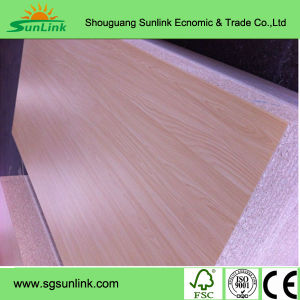 Furniture Grade Melamine Faced MDF / UV MDF (High Gloss, Wood Grain, Smooth) pictures & photos