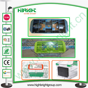 Plastic Handle Display Board for Super Market Trolley pictures & photos