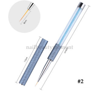 Blue Pearl Acrylic Nail Beauty Brush Pen Manicure Tool (B051) pictures & photos