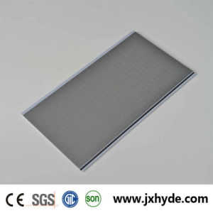 7*250mm Verona Silver PVC Panel for Wall and Ceiling Waterproof Decoration Material pictures & photos