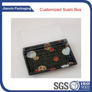 Disposable Plastic Sushi Packaging Food Box pictures & photos