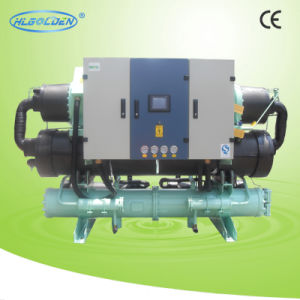 Water Cooled Screw-Type Water Chiller Refigeramt R407c (Heat Recovery) pictures & photos